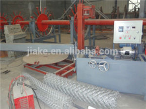 Factory Directly Sales Semi-Automatic Chain Link Fence Machine pictures & photos