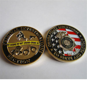 Quality Criminal Investigation Military Coin