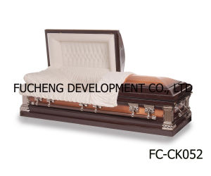 Best Selling Us Style Casket with Low Price & Good Quality (FC-CK049) pictures & photos