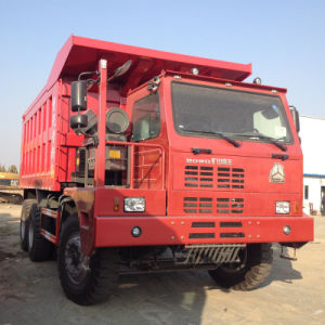 HOWO 6X4 Mining Tipper with Berth (ZZ5707S3840AJ) pictures & photos