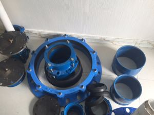 Repair PVC PE Pipe Gibault Joint for Spain with O Ring and Flat Gasket pictures & photos