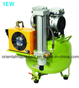 Oil Free Silent Dental Air Compressor with Air Drier pictures & photos