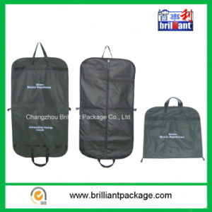 Folding Suit Garment Bag with Logo Printing and Handle pictures & photos
