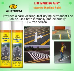 Long Lasting Line Marking Paint, Line Marker Spray, Marker Spray, 750ml Line Marking Paint pictures & photos