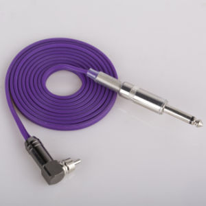 Stylish Style Tattoo Gun Power Use Clip Cord Hb1006-80 pictures & photos