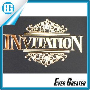 High End Custom Your Design Aluminum Label Sticker pictures & photos