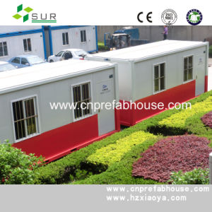 Prefabricated Steel Construction Container House for Living pictures & photos