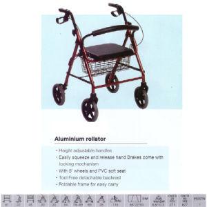 Foldable Tool Free Aluminum Rollator