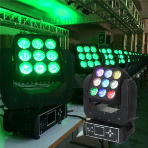 New 9X12W 4in1 Disco LED Moving Head Beam Light pictures & photos