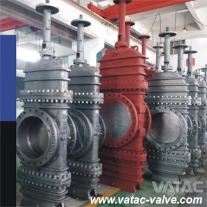 Ss CF8/CF8m/CF3/CF3m RF Flanged Cast Slab Gate Valve pictures & photos