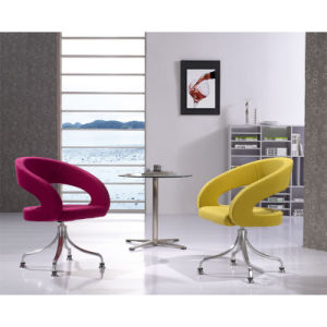 Upholster Rotary Replica Designer Chair with Alu Base pictures & photos