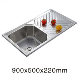 Kitchen Stainless Steel Sink (9050yq-2) pictures & photos