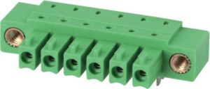 Puggable/Plug-in Terminal Block with Double Row Pin Headers (WJ15EDGB-3.81) pictures & photos