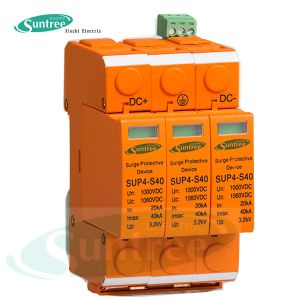 DC1000V 20ka-40ka 3 Pole DC Surge Protector pictures & photos