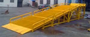 Container Ramp / Container Loading Ramp / Combined Ramp for Loading and Unloading pictures & photos