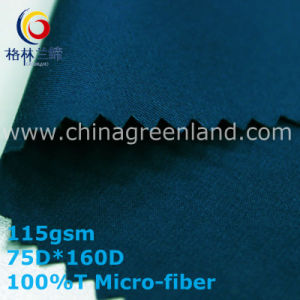 Twill Polyester Micro-Fiber Fabric for Textile Pants (GLLML335) pictures & photos