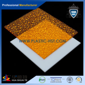 Colored Plastic Sheets of PC Embossed Sheet pictures & photos