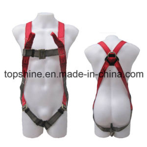 Full-Body Polyester Adjustable Professional Protective Security Industrial Harness Safety Belt pictures & photos