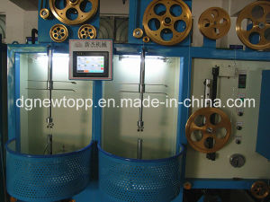 Vertical-Type Single/Double Layer Cable Tape Wrapping Machine pictures & photos