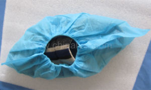 Disposable Medical CPE Shoe Cover pictures & photos