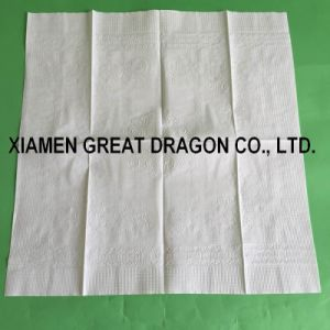 Lunch Napkin, White Color, 1or 2-Ply (N-1602) pictures & photos