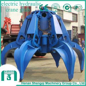 2016 Shengqi Hydraulic Clamshell Grab Buckets for Cranes pictures & photos