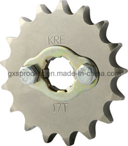 Motorcycle Front Sprocket for Honda SDH125-F/150-20 (ENGIN) pictures & photos
