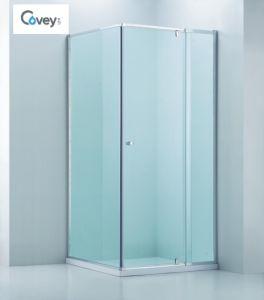 Adjustable Bathroom Shower Enclosure/Square Semi-Frameless Shower Cabin (CVP025-1)