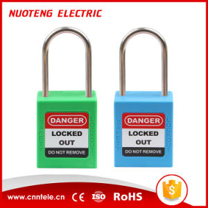 4mm Long Shackle Loto Safety Padlock Security Padlock pictures & photos