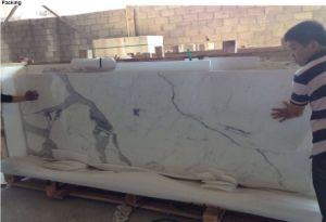 Italian Calacatta Marble White pictures & photos