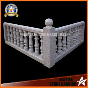 Granite Hnadrail Railing Stone Staircast Balustrade with Post pictures & photos