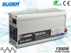 Suoer Power Inverter 1200W Inverter 12V to 220V (SAA-1200A) pictures & photos