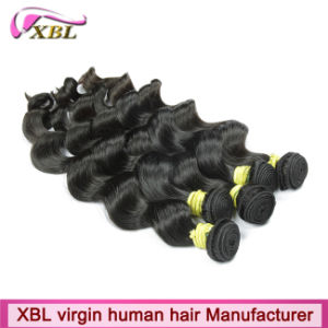 Double Weft Virgin Hair Factory Hair Extensions Prices pictures & photos