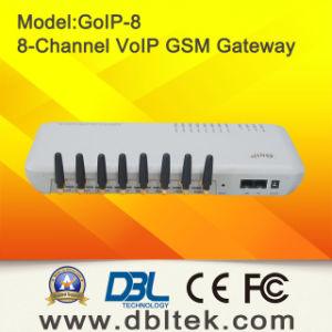 GSM Gateway GoIP-8 With 8 SIM Card Ports VoIP GSM Gateway pictures & photos