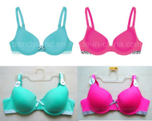 Fabric Edging T-Shirt Bra pictures & photos