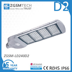 240W LED Street Light Fixture with 5 Years Warranty pictures & photos