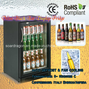 Mini Bar Refrigerator Display Showcase (SC-98F) pictures & photos
