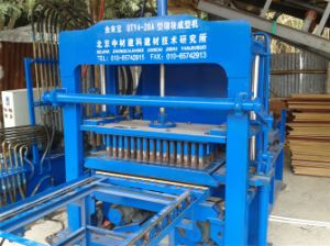 Zcjk4-20A Interlocking Brick Machine pictures & photos