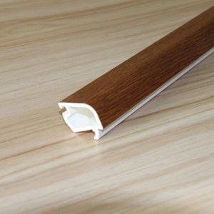 Wooden Texturer Laminated UPVC Profile for Windows and Doors pictures & photos