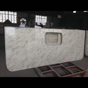 Custom Made River White Granite Tops pictures & photos