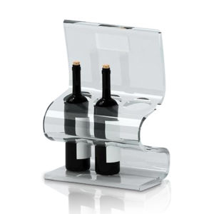 Transparent Acrylic POS Display Stands for Wine Storing pictures & photos