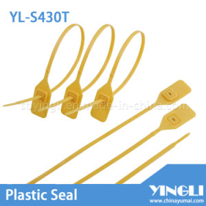 Adjustable High Security Seal Plastic Seal with Metal Locking (YL-S430T) pictures & photos