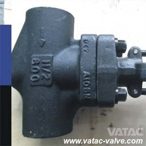 API602 Bolted Bonnet Forged Steel Globe Valve with Bw/Sw/NPT pictures & photos
