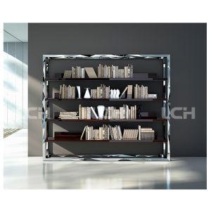 Modern New Design Steel &Wood Bookshelf pictures & photos