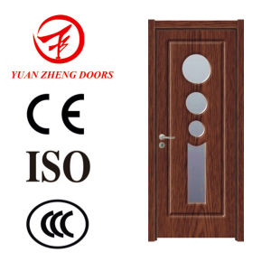 Good Quality PVC Toilet Door PVC Bathroom Door Price pictures & photos
