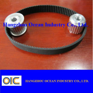 PU Timing Belt and Aluminium Timing Pulley pictures & photos