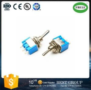 Miniature Toggle Switch 13*8mm 3-Way Toggle Switch, on-off-on Toggle Switch pictures & photos