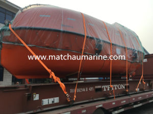 Professional Enclosed FRP Free Fall Lifeboat for Sale pictures & photos