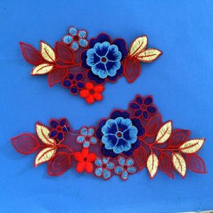 Multicolor Lace Flower Collar Decorted Sewing on Women pictures & photos