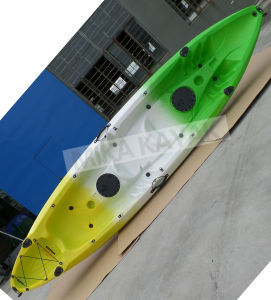 3.7m Tandem LLDPE Fishing Boat for Sale / Mika Kayak (M06) pictures & photos